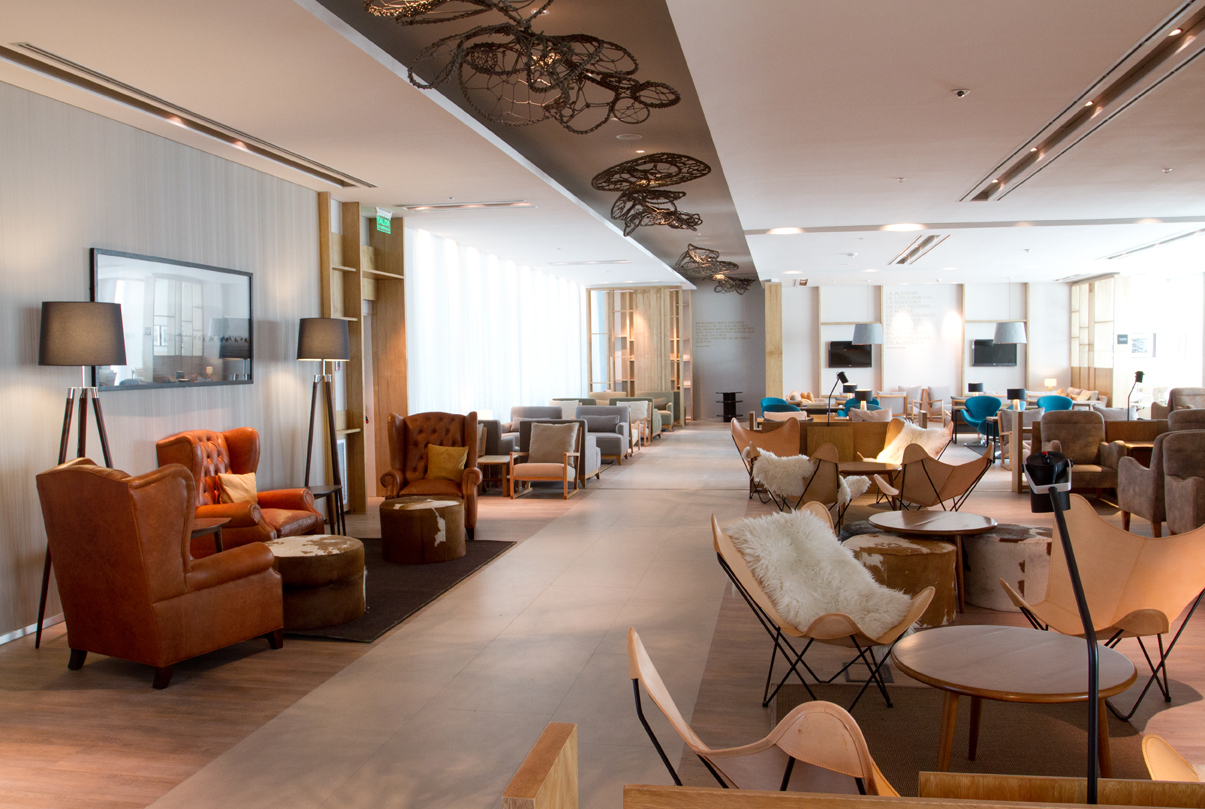 star alliance lounge BUE 2