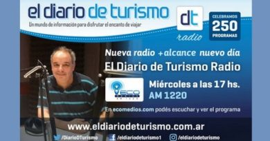 El Diario de Turismo Radio – Programa 252 del 16 de enero de 2019
